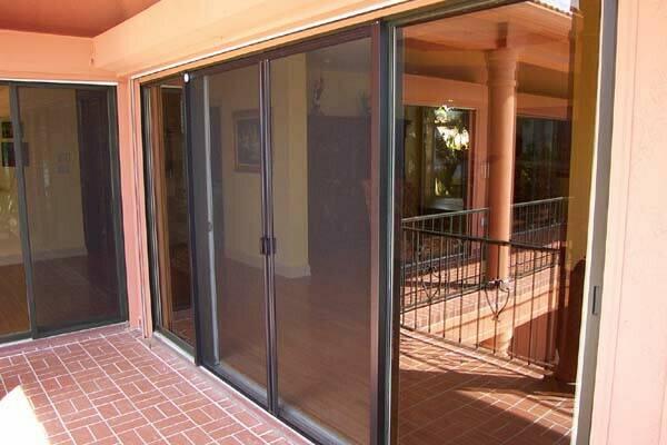 Dreamscreens for Multi panel sliding glass doors